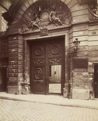 Hotel des Ambassadeurs de Hollande, 47 rue Vieille-du-Temple