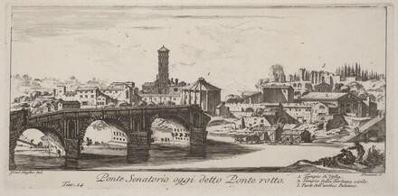 Ponte Senatorio oggi detto Ponte Rotto