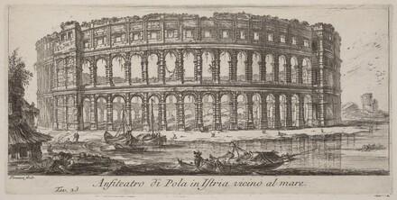 Anfiteatro di Pola in Istria