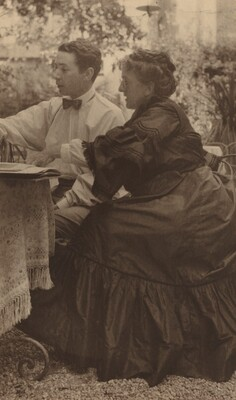 Gertrude Kasebier and Baron de Meyer