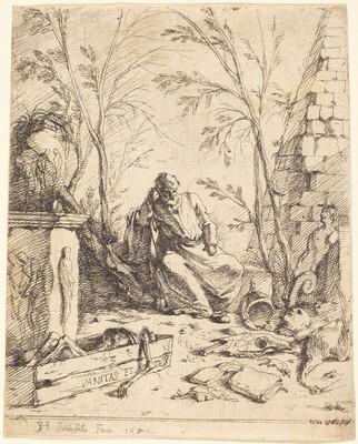 Democritus Meditating