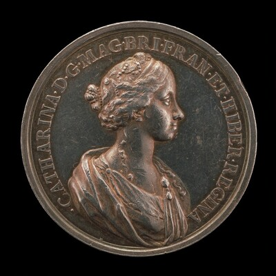 Catherine of Braganza, 1638-1705, Wife of Charles II, King of England, 1662 [reverse]