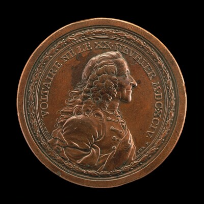 Voltaire, 1694-1778, Writer and Philosopher [obverse]