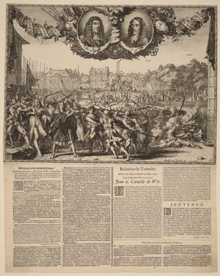 Afbeelding en waarachtigh Verhaal... (Representation of the True Story of Johan de Witt...)