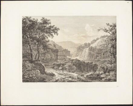 Cascatella di Tivoli, seconda veduta