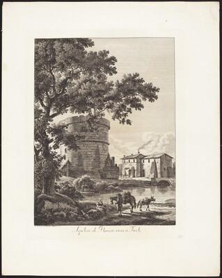 Sepolcro di Plauzio vicini a Tivoli