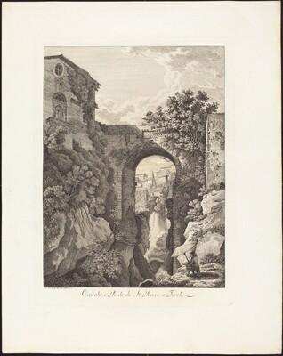 Cascata e Ponte di San Rocco a Tivoli