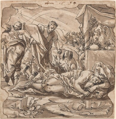 The Drunkenness of Noah