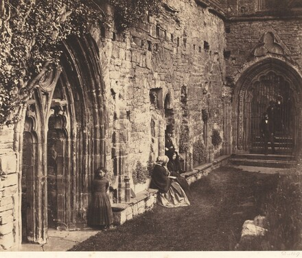The Cloisters, Tintern Abbey