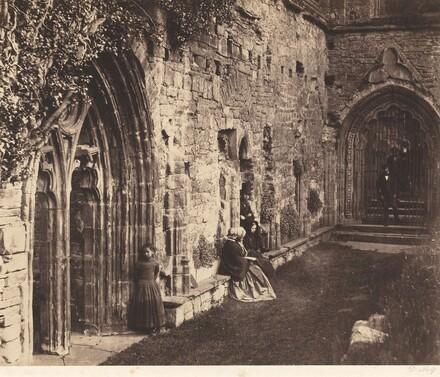 The Cloisters, Tintern Abbey
