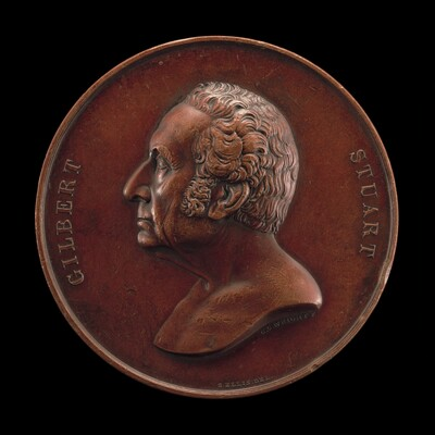 Gilbert Stuart, 1755-1828, Painter [obverse]