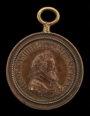 Henri IV, 1553-1610, King of France 1589 [obverse]