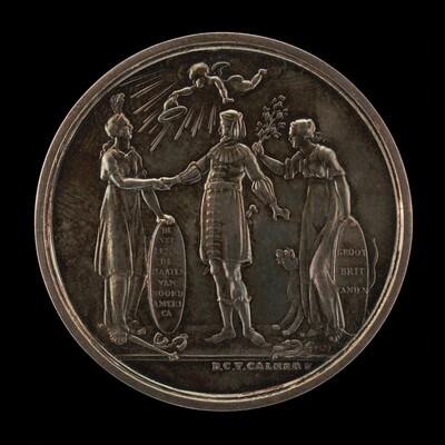 Recognition of the Independence of the United States by Friesland [obverse]