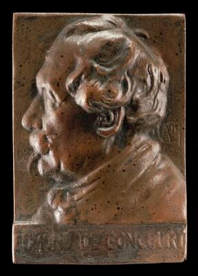 Edmond de Goncourt, 1822-1896, Writer and Critic