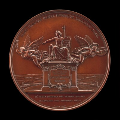 The Establishment of the French Railway System: The Law of 11 June 1842 [reverse]