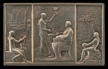 Charles Christofle, 1805-1863, Silversmith [obverse]