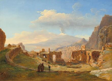The Roman Theater at Taormina