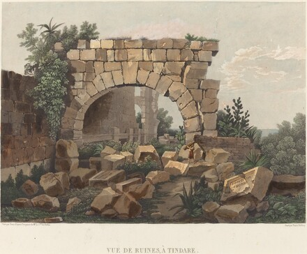 Vue de Ruines, à Tindare