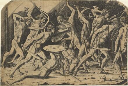 Battle of Naked Men