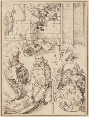 Saint Benedict Reviving a Monk Killed by the Devil