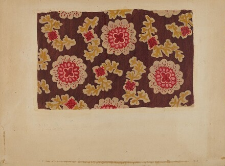 Block Printed Handkerchief