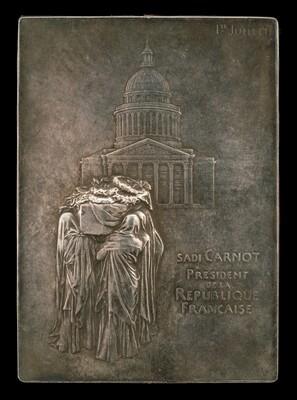The Body of President Sadi Carnot Borne to the Panthéon [obverse]