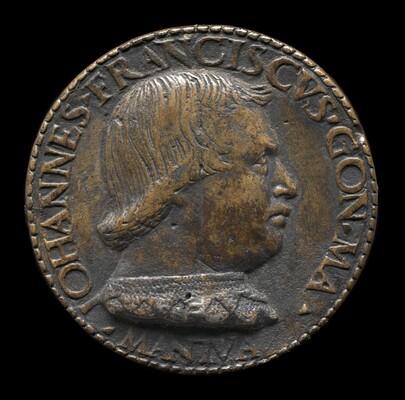 Gianfrancesco Gonzaga di Rodigo, 1445-1496, Lord of Bozzolo, Sabbioneta, and Viadana 1478 [obverse]