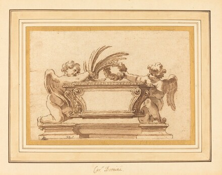 Study for a Reliquary Sarcophagus