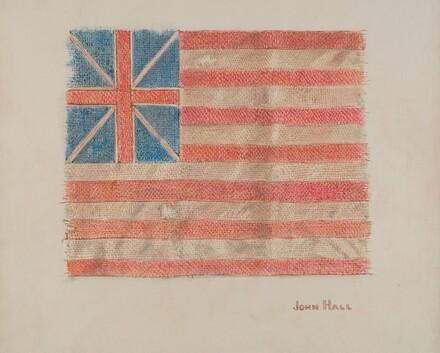 Miniature Revolutionary Flag
