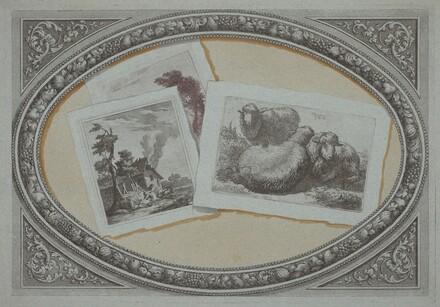 Trompe l'Oeil: Landscapes and Sheep, Using Original Copperplates