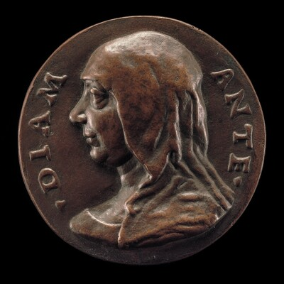 Possibly Diamante de' Medici, Wife of Giovanni Capponi [obverse]