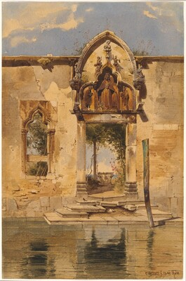 The Portal of the Madonna della Misericordia from the Canal