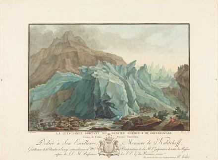 La Lutschinen sortant du Glacier inférieur du Grindelwald