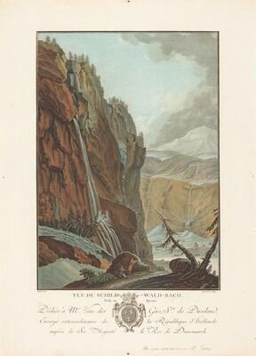 Vue du Schild-Wald-Bach prise en Hyver