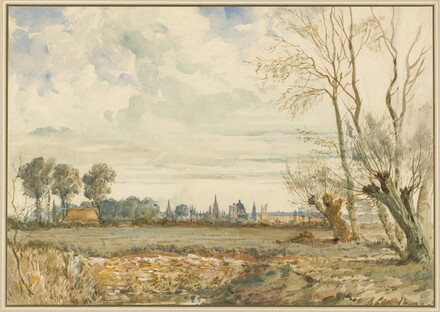 Meadows with a Distant View of Oxford