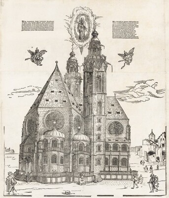 The New Church of the Beautiful Virgin at Regensburg