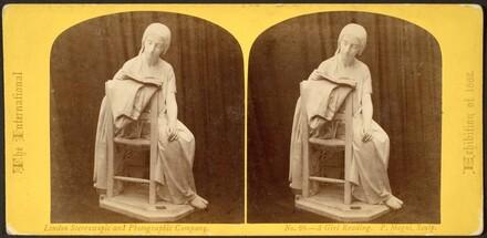 Pietro Magni, The Reading Girl
