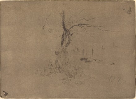 Arbres et Bateaux (Trees and Boats)
