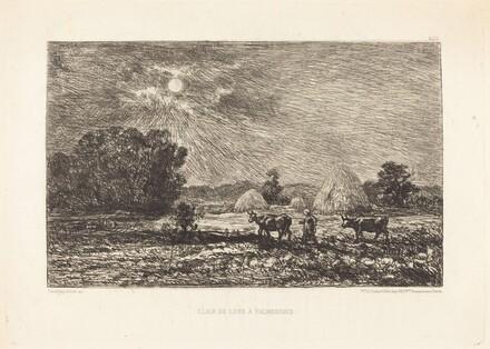 Clair de lune à Valmondois (Moonlight at Valmondois)