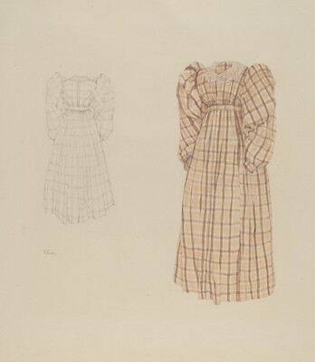 Plaid Morning Dress