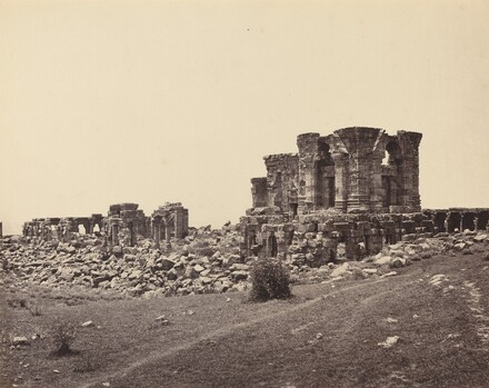 Ruins of Martand from Southeast