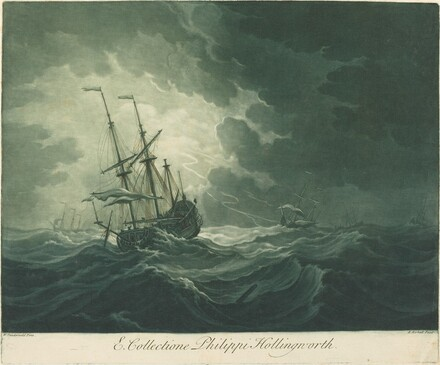 Shipping Scene from the Collection of Philip Hollingworth