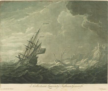 Shipping Scene from the Collection of Lawrence Fashion