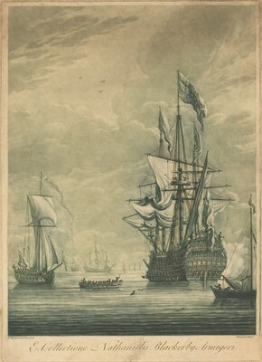 Shipping Scene from the Collection of Nathaniel Blackerby
