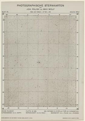 Photographische Sternkarten (October 15, 1901)