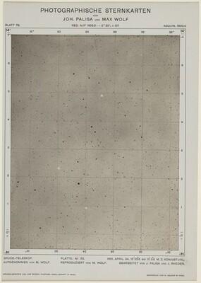 Photographische Sternkarten (April 24, 1901)