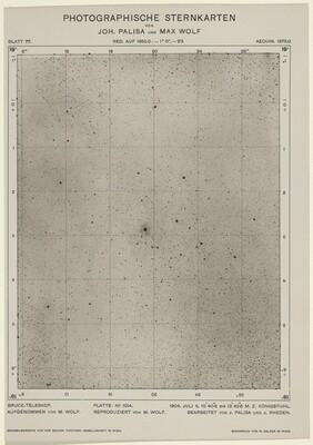 Photographische Sternkarten (July 6, 1904)