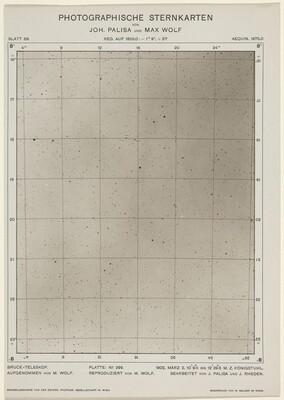 Photographische Sternkarten (March 2, 1906)