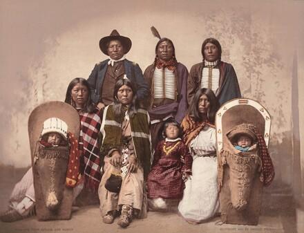 Ute Chief Sevara and Family