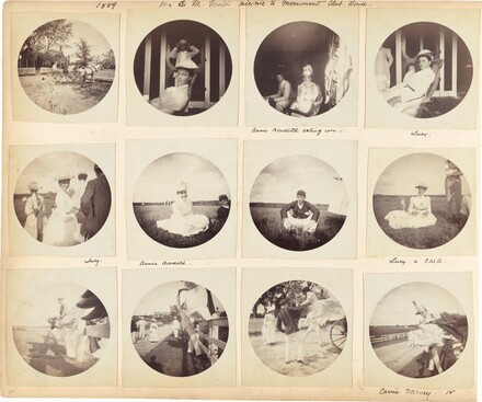 Charles Walter Amory family album